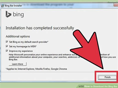 how to install and use the new bing bar in internet explorer 9 how to download the bing bar 10 steps with pictures