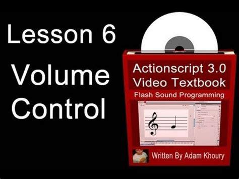 Flash Tutorial Volume Control | flash tutorial volume control using custom sliders in