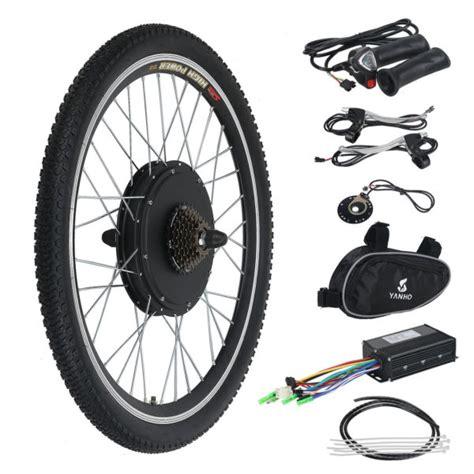 in wheel electric motor electric bicycle ebike 26 inch conversion kit hub motor