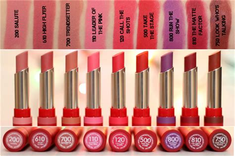 Lipstik The One rimmel the only 1 matte lipstick review swatches liviatiana