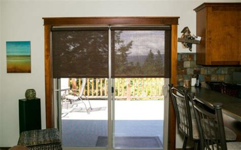 Patio Door Roller Shades Roller Shades For Patio Doors Outdoorlivingdecor