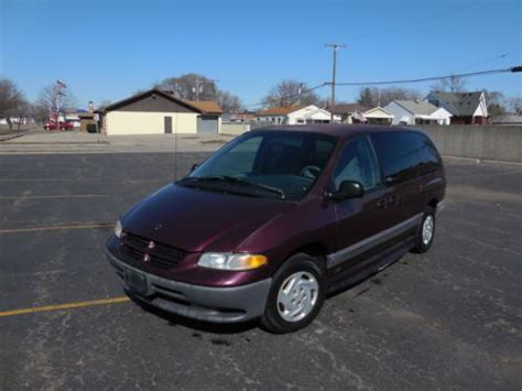 electric and cars manual 1999 dodge grand caravan electronic valve timing buy used 1999 dodge grand caravan se handicap in melvindale michigan united states