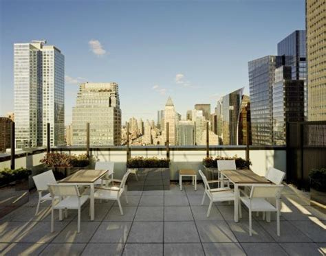 The Patio Nyc by Element New York Times Square West Rooftop Patio Picture