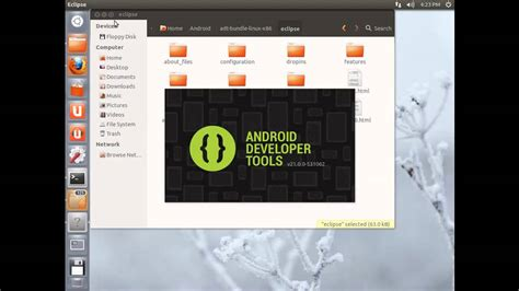 tutorial install ubuntu di android twenty minute tutorial installing the new android sdk on