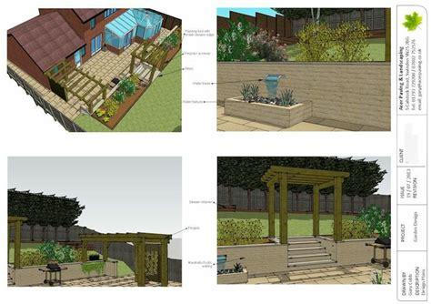 Landscape Design In Sketchup Sketchup Garden Design Sketchup Gardens