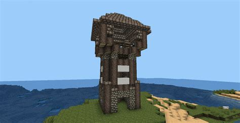 Home Design Diamonds medieval watchtower minecraft project