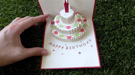 Pop Up Card Happy Birthday Template Best Photos Of Pop Up Birthday Cake Template Cake Pop Up
