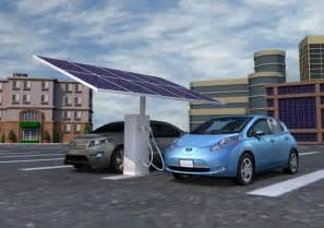 Electric Vehicles Renewable Energy Solar Powered Ev Charging Station Eco Chunk