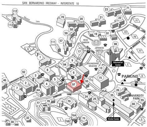 cal poly pomona map hours location