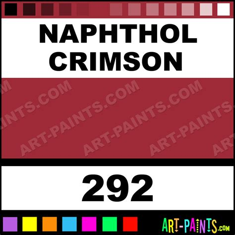 naphthol crimson basics acrylic paints 292 naphthol crimson paint naphthol crimson color
