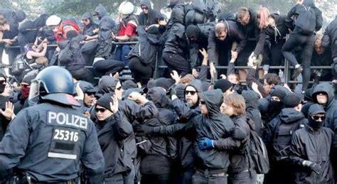 Vicenza G20 amburgo migliaia in piazza contro il g20 scontri al