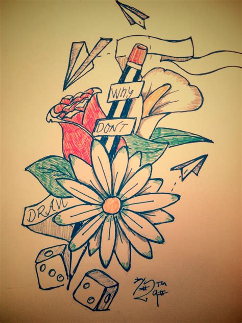 imagenes de rosas en grafiti marcos guill 233 n guill 233 n dibujo de l 225 piz con flores