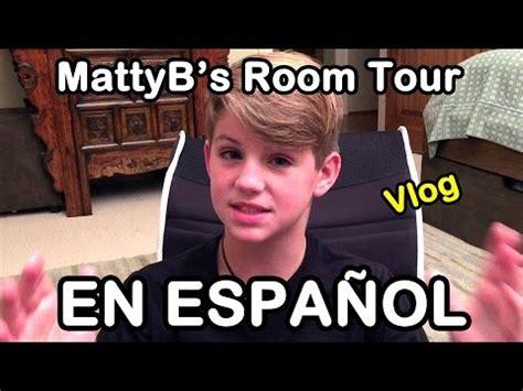 mattyb room tour mattyb s room tour en espa 241 ol hd