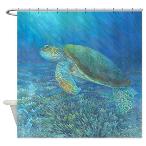 sea turtle bathroom sea turtle shower curtain by mclaughlinwatercolor