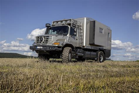 luxury trucks mercedes off road zetros truck carries a luxury apartment