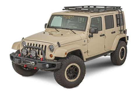 Jeep Rack by Maximus 3 Rhino Rack Pioneer Roof Rack For 07 18 Jeep