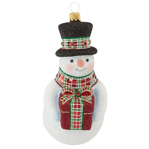 reed and barton gifting snowman 2016 christmas ornament