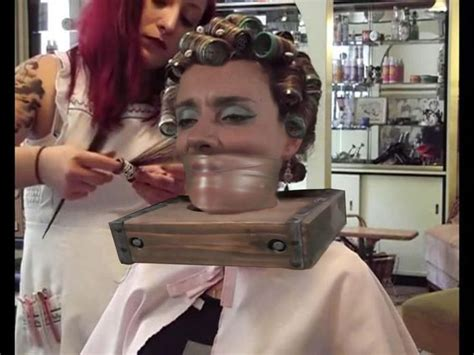 forced feminine haircuts in the beauty salon 35 best forced salon bondage images on pinterest