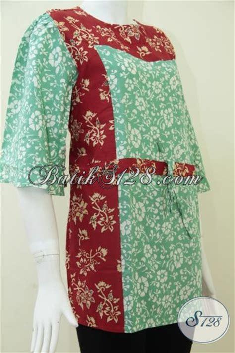 Kombinasi Baju Warna Merah Hati baju batik wanita kombinasi warna merah dan hijau bls865c l toko batik 2018