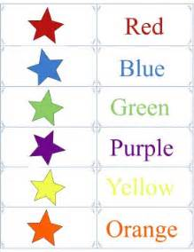 color flashcards printable color flashcards