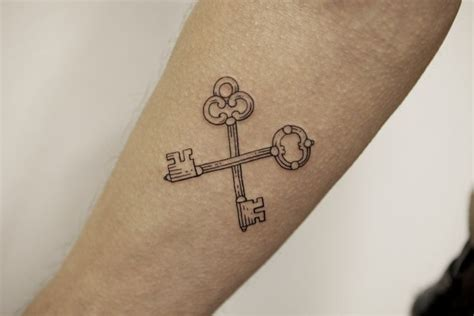 B Cross 3001 by Crossed For Arno Tattoos And Locks