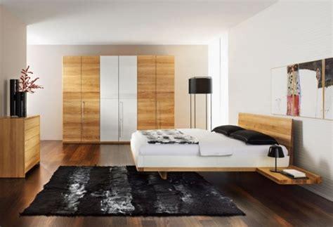 modern minimalist solid black walnut contemporary solid walnut bedroom furniture set riletto by team7 home design inspiration