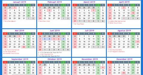 kalender  indonesia    calendar printable  holidays list