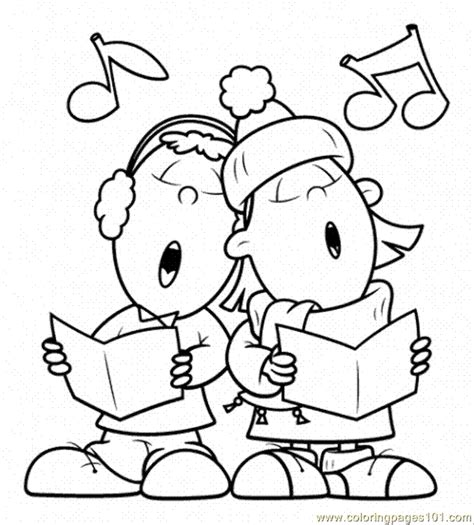 singing coloring pages coloring pages