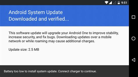 android system updates lava pixel v1 new system update is air today received message right now