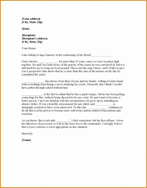 character letter for judge best solutions of sample of character