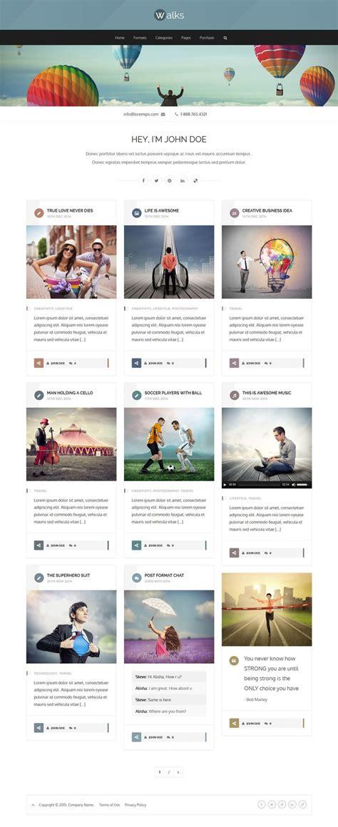 theme ref blog as 25 melhores ideias de wordpress blog themes no