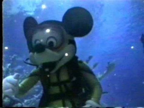 mickey mouse scuba diving youtube