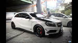 dia show tuning epd motorsports mercedes a45 amg mit rza