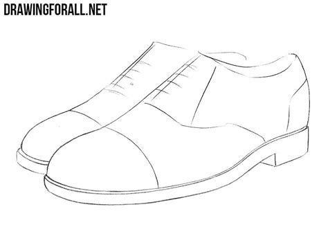 how to draw a shoe step by step for how to draw shoes drawingforall net