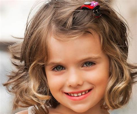 pictures of best hair style for stringy hair 23 lovely hairstyles for little girls short haircuts