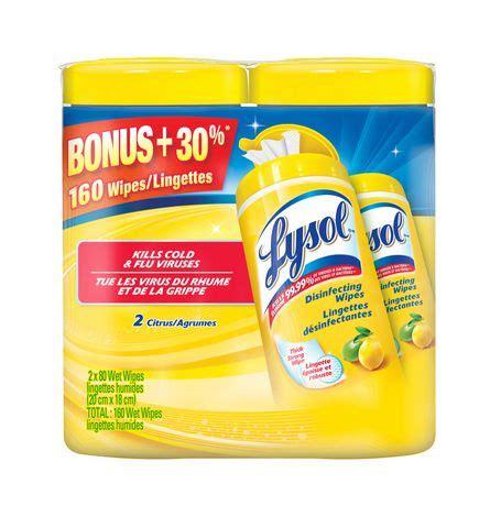 lysol citrus disinfectant wipes  pack walmart canada