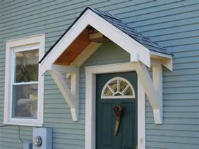front door awning kit and design ideas