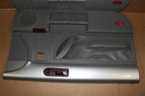 2001 Vw Beetle Door Panels by 98 09 Vw Beetle Door Panels Sliver Grey Leather 2001