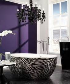 Zebra Print Bathroom Ideas Zebra Prints And Decorative Patterns For Modern Bathroom