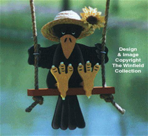 yard garden projects swinger bird pattern collection