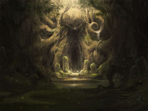 Two Tales Sleepers In The Cave Two Gardens Favourite Tales From image result for creepy cave entrance cave entrance rpg and creepy