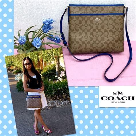 Coach Isabelle Bright Mineral 51 Coach Handbags Coach Khaki Bright Mineral Blue