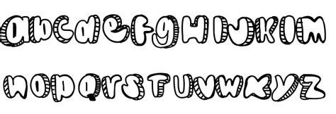 doodlebug font doodle schriftart