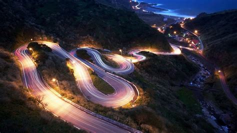 hd photography wallpaper night cityscapes streets cars roads photograph 5344