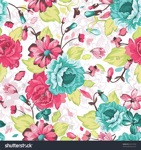 abstract seamless floral pattern background free vector abstract elegance seamless pattern floral background stock