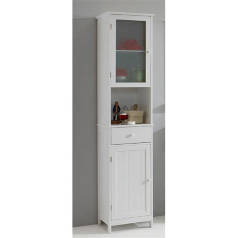 sweden1 free standing bathroom cabinet in white 13553