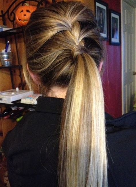 hairstyles for long straight hair tied up 10 cute ponytail hairstyles for 2018 new ponytails to try