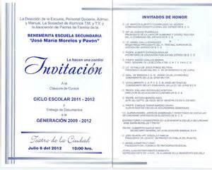 invitaciones de graduacion de secundaria invitaci 243 nes graduaci 243 n secundaria imagui