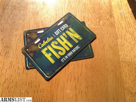 Cabela S Gift Card Value - armslist for sale 150 cabela s gift cards
