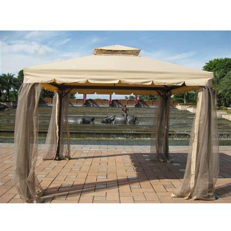 pavillon aluminium 4x4 terrasse pavillon garten baldachin mit moskitonetz 4x4